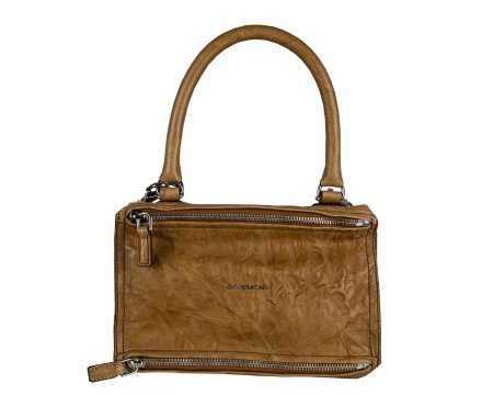 Shop GIVENCHY  Borsa: Givenchy Pandora borsa color cammello in pelle con pieghe. BB05251004-235
