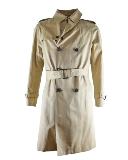 Shop MACKINTOSH  Cappotto: Trench Mackintosh beige impermeabile doppiopetto con cintura in vita e polsini regolabili.. 4568D YG3H3H MJ GM011FD-B