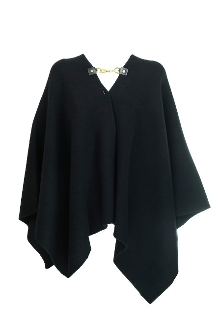 Shop MICHAEL KORS Sales Cloak: Michael Michael Kors black cape in cashmere and wool. Golden detail on the front. Back Logo. V neck line. Composition: 90% wool 10% cashmere.. MU76NC974P-001