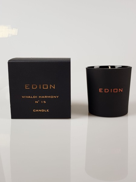 Shop EDION  Profumo: Edion candela Vivaldi Harmony cello suite n 15. Note floreali, speziate con sentore finale di vaniglia. Durata: 45 ore. Made in Italy.. CELLO SUITE N.15 VIVALDI-CANDLE