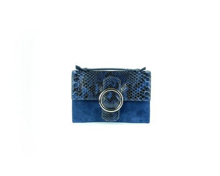 "Shop ORCIANI Sales Bag: Orciani blue python micro bag "" diamond "". width: 22 cm height: 15 cm depth: 4 cm. Made in Italy.. B02008-B"