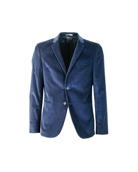 Shop PAUL SMITH  Giacca: Paul Smith giacca blu in velluto a costine. Composizione: 98% cotone 2% elastane.. PTXD1711717-48