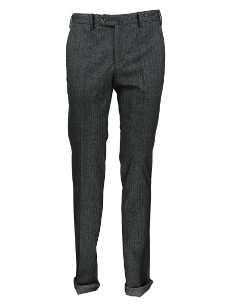 Shop PT01  Pantalone: PT 01 pantalone in cotone stretch spigato effetto tweed super slim fit. Abbottonatura sovrapposta con zip e bottoni. Tasche a filetto. Taschino interno per monete. Tasche posteriori con bottone. Composizione: 98% cotone 2% elastam. Lavabile a secco con percloretilene. Made in Italy.. C0DS01Z00CLASD12-0240