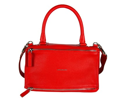 Shop GIVENCHY  Borsa: Givenchy Borsa Pandora rossa media in pelle. BB05250013-610