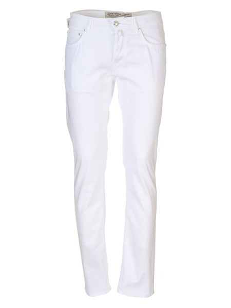 Shop JACOB COHEN  Jeans: Jacob Cohen trousers, five pockets, made of cotton. Model: PW688 comf. Closure with branded buttons. Horse patch. Composition: 98% cotton 2% elastane. Made in Italy.. PW688 COMF 01114 V-100