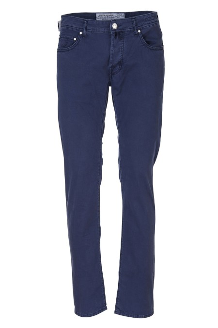 Shop JACOB COHEN  Jeans: Jacob Cohen trousers, five pockets, made of cotton. Model: PW688 comf. Closure with branded buttons. Horse patch. Composition: 98% cotton 2% elastane. Made in Italy.. PW688 COMF 01114 V-866