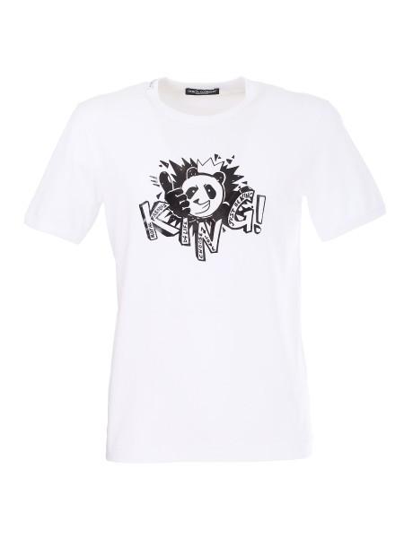 01472703bb3542 Shop DOLCE & GABBANA Saldi T-shirt: Dolce & Gabbana t-shirt in ...