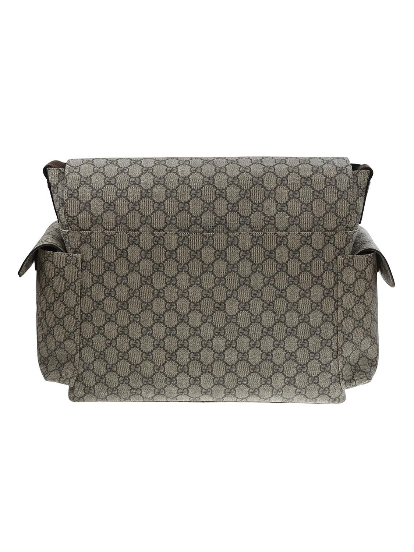 69c908ea6d shop GUCCI Borsa: Gucci Borsa per accessori da bebé in tessuto GG Supreme  beige/